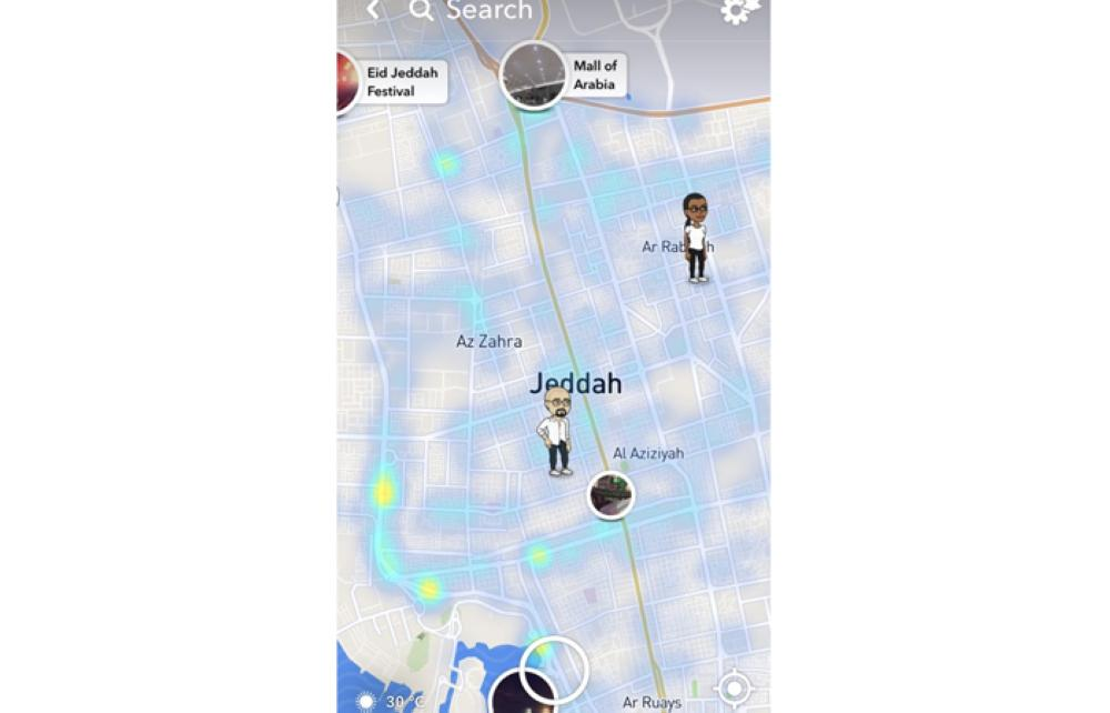 Snapchat invades privacy in new location feature