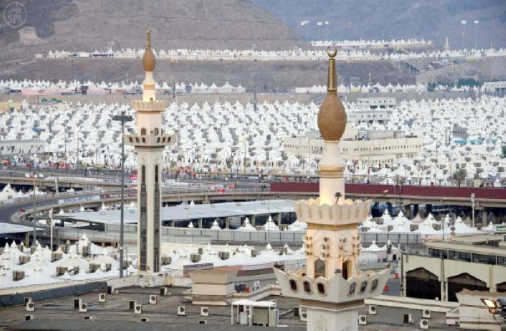 The tent city of Mina. — File photo