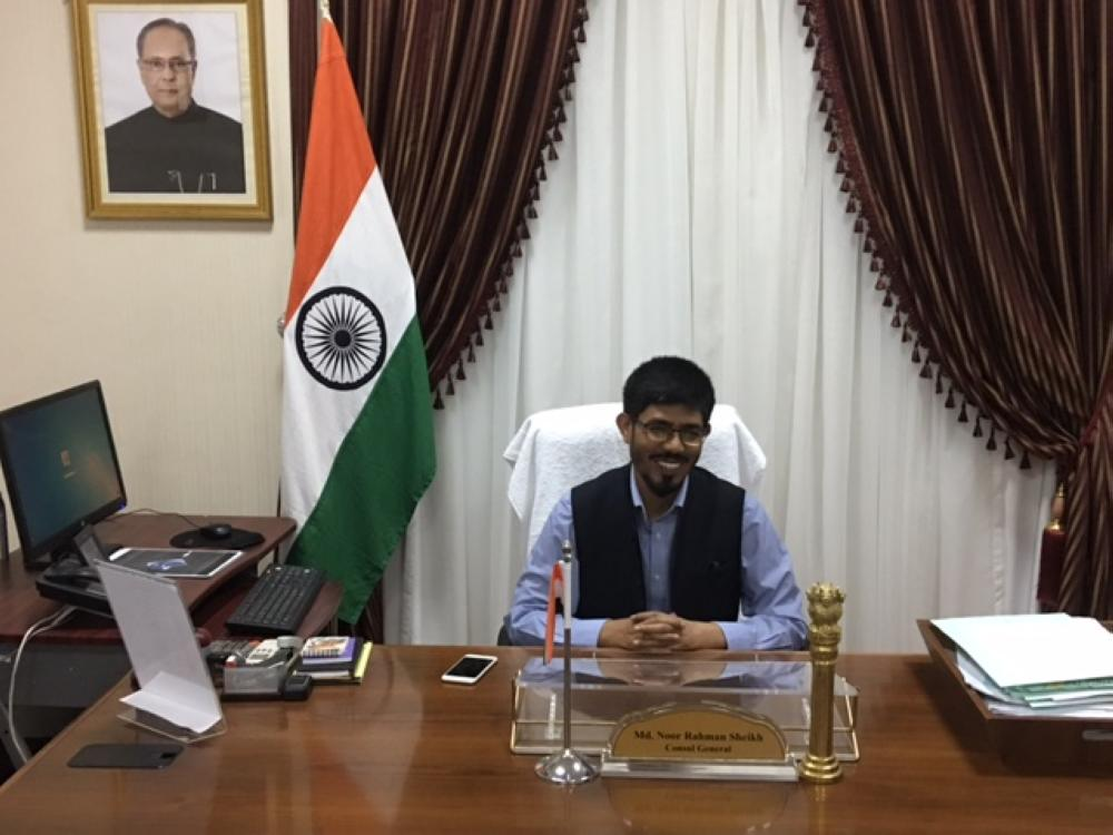 Indian Consul General Mohammed Noor Rahman Sheikh said that the first batch of pilgrims will arrive in Madinah on July 24. The Air India flight from Goa will touch down at Prince Muhammad International Airport at 10 a.m. and this will be followed by seven other flights on the same day. — SG photo