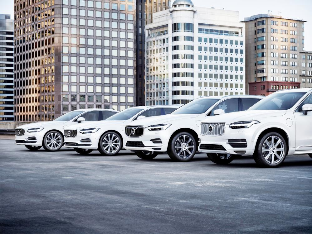 Volvo will introduce a portfolio of electrified cars across its model range, embracing fully electric cars, plug in hybrid cars and mild hybrid cars