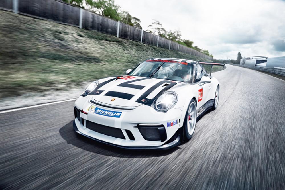 New Porsche 911 GT3 Cup car 2017