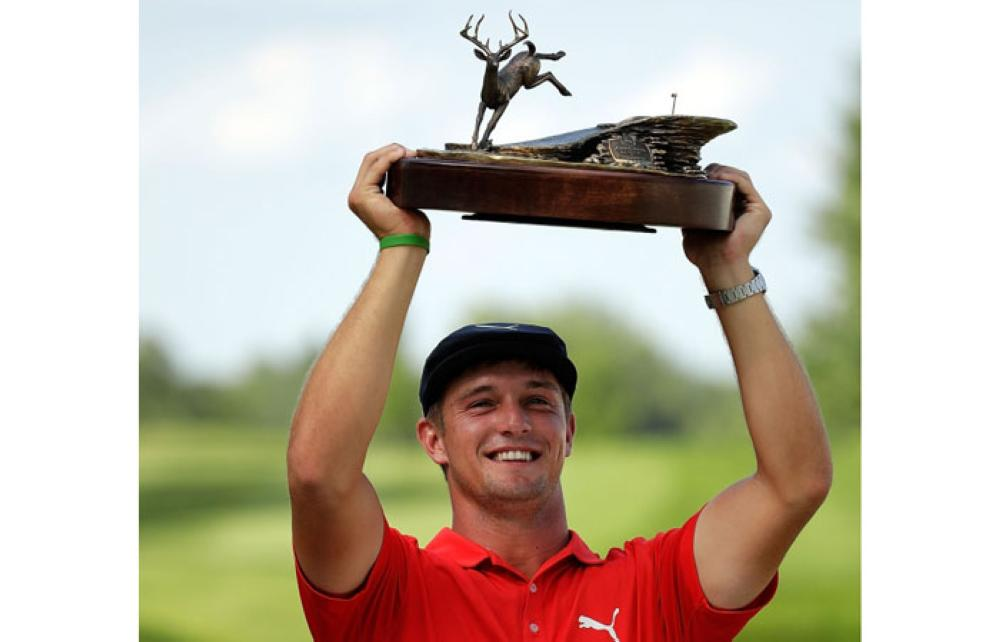 Open-bound DeChambeau upstages Rodgers to win John Deere Classic