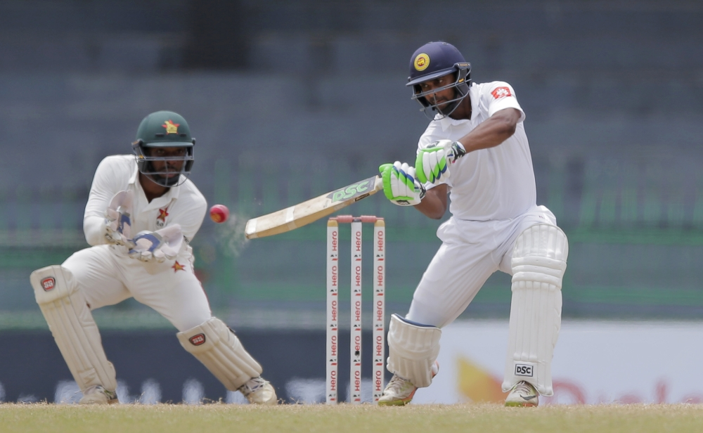 Sri Lanka pull off record chase to beat Zimbabwe in one-off Test
