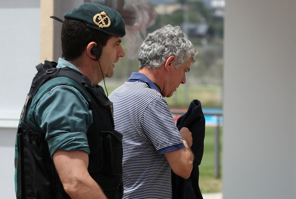Spain's football president Angel Maria Villar arrested after police raids