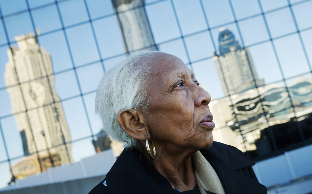 Doris Payne poses for a photo in Atlanta in this Jan. 11, 2016 file photo. — AP