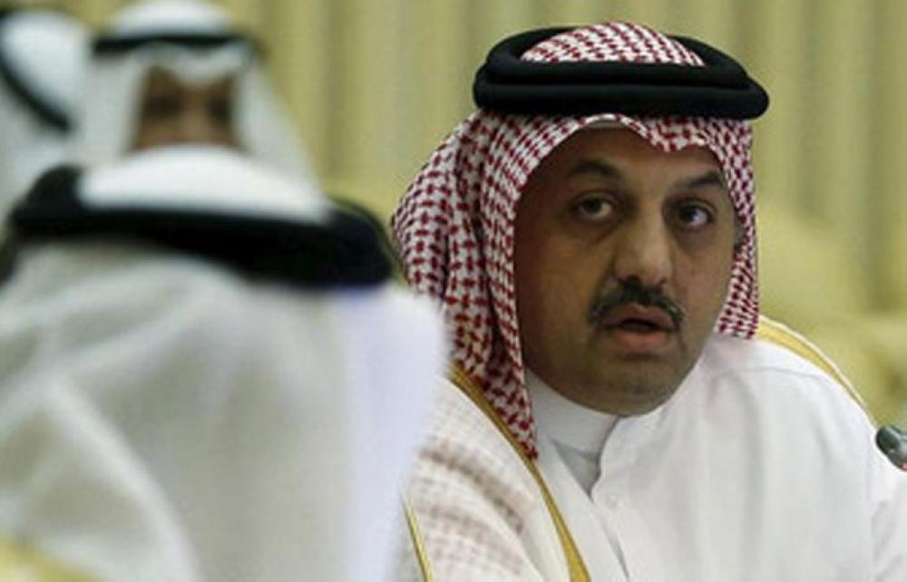 File photo: Qatari Minister of State for Defense Affairs, Khalid bin Mohammed al-Attiyah. — Reuters