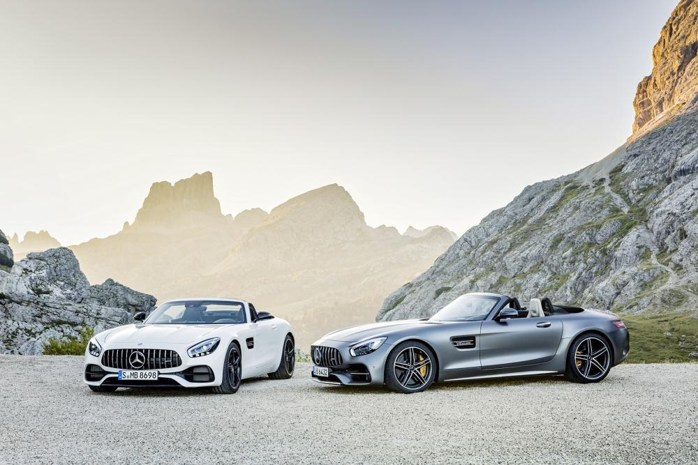 Mercedes-AMG GT Roadster and Mercedes-AMG GT C Roadster