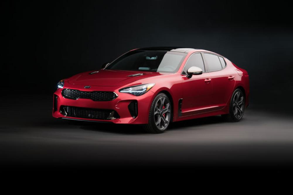 Stinger fastback sedan brings designers' dreams to reality