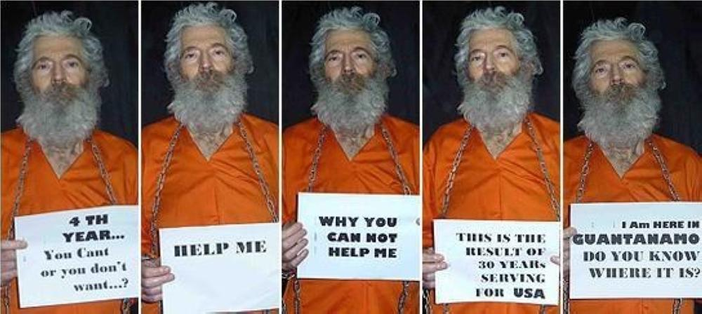 Robert Levinson, an American former law enforcement officer who disappeared more than 10 years ago in Iran. — File photo