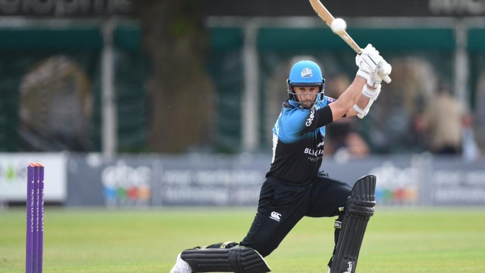 Ross Whiteley clobbered six sixes in an over in Sunday's Natwest T20 Blast match against Yorkshire. He joins a select band of cricketers who have achieved this feat.