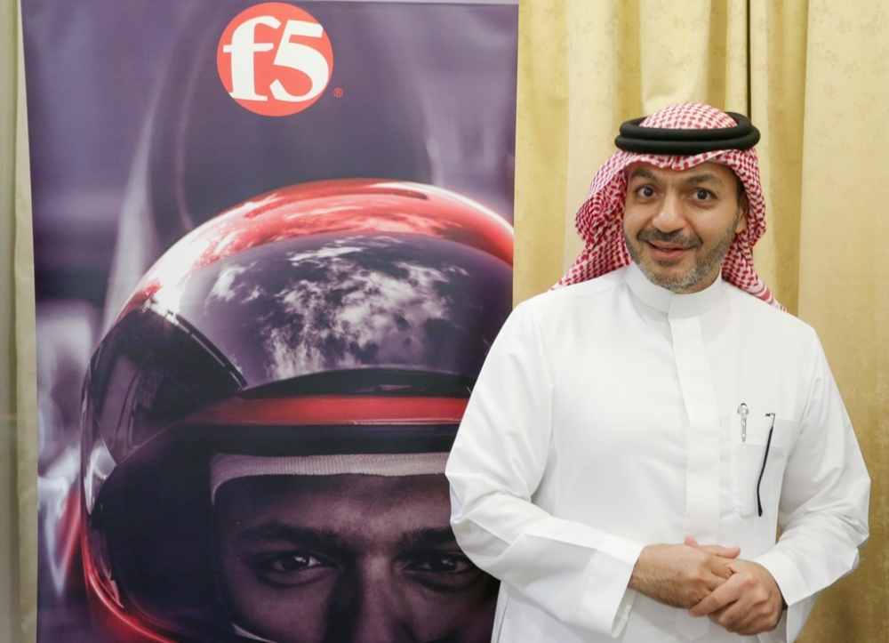 Mamduh Allam, Saudi Arabia general manager, F5 Networks. — Courtesy photo