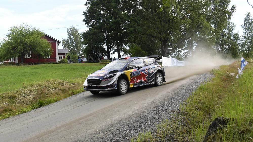 Rally Finland: Lappi on course for shock win after Latvala exit