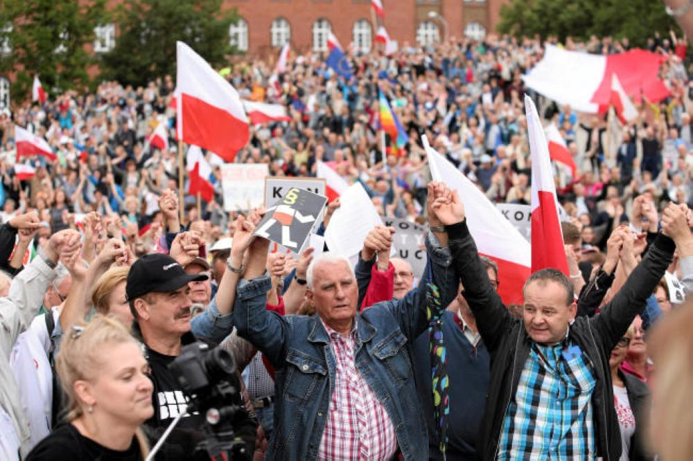 European Union launches legal action against Poland over judiciary reforms