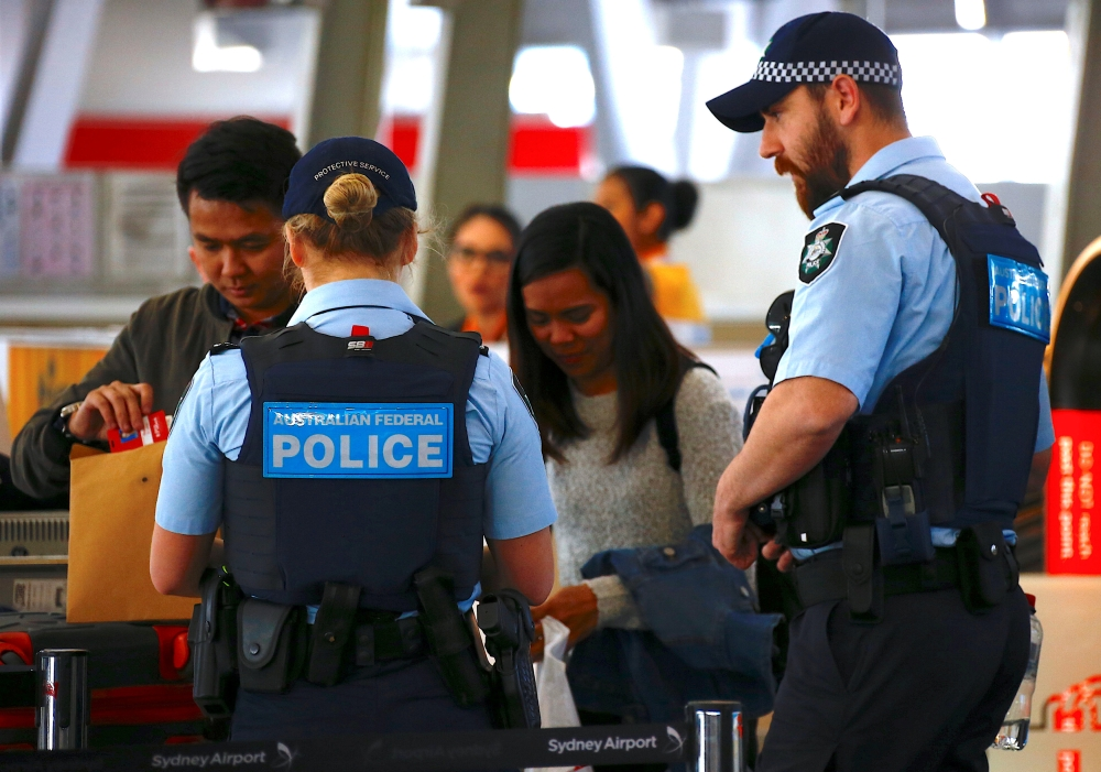 Lengthy delays at Australian airports after 'Islamic-inspired terrorism' plots