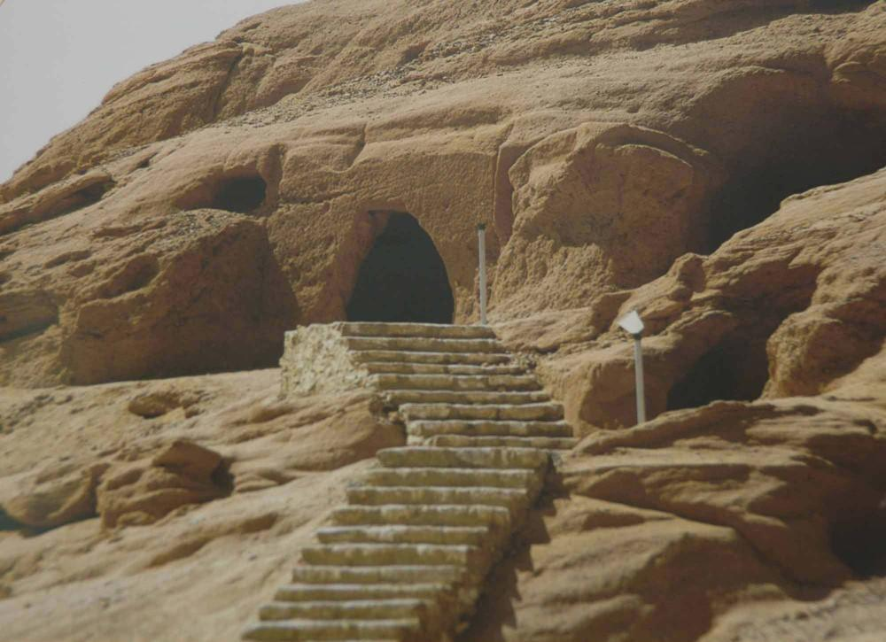 'Magha'er Shuaib' is a historical site that lies 225 km northwest of Tabuk city in Saudi Arabia. — Courtesy photo