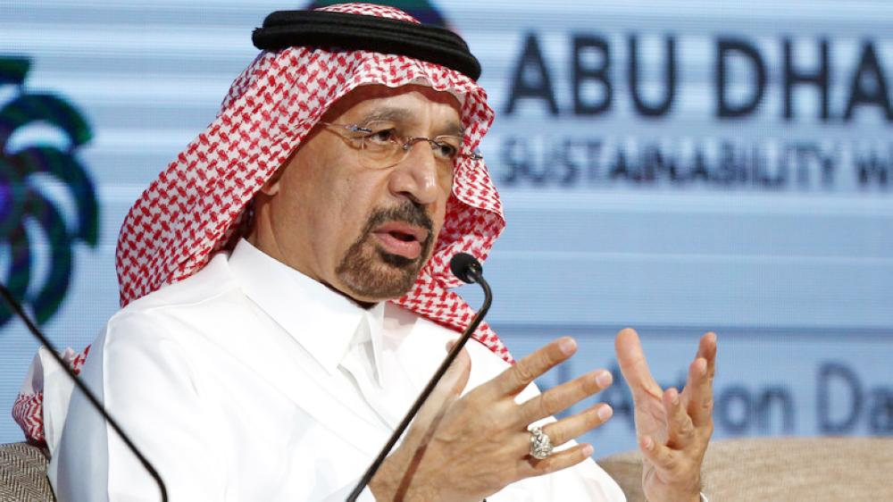 Saudi Minister of Energy, Industrial and Mineral Resources Khalid Al-Falih
