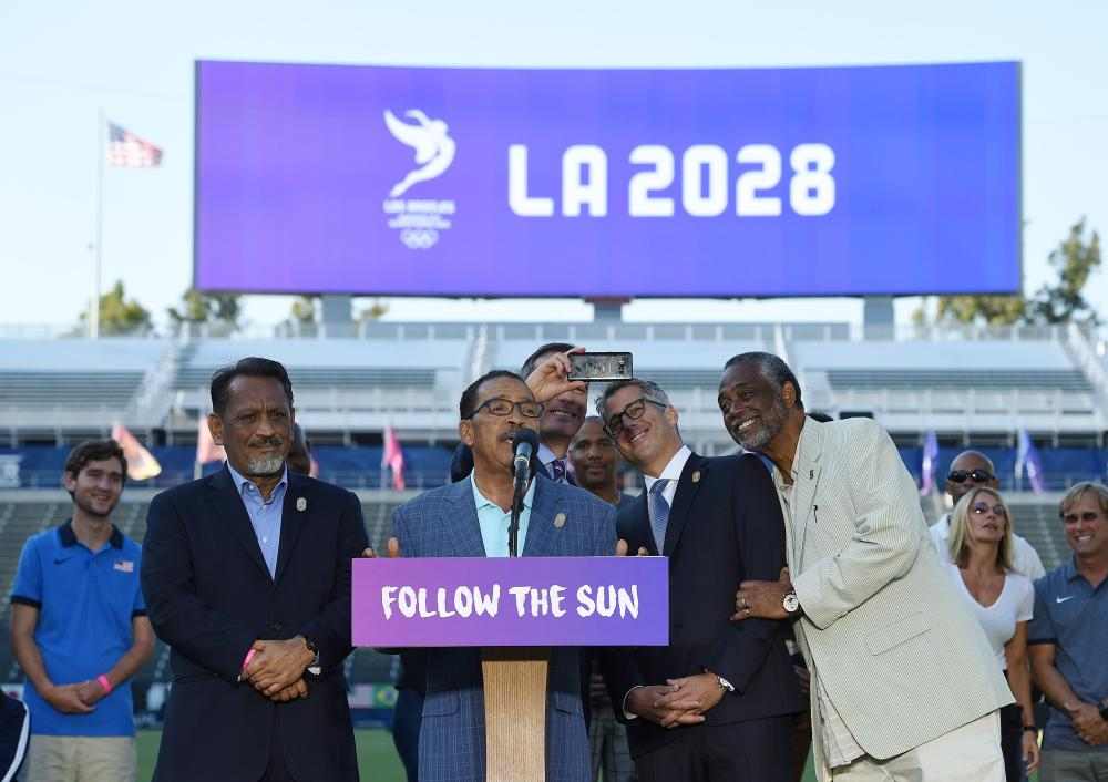 Olympics: LA approves host city contract for 2028 Games