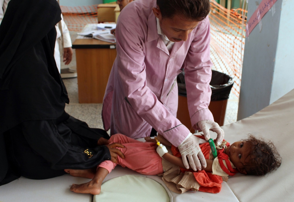 More Than 500000 Infected With Cholera in Yemen