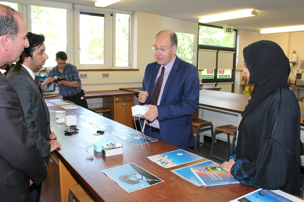 Meeting with Professor Giles Harrison of the University of Reading1