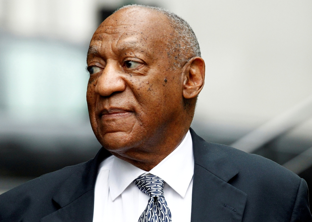 Actor and comedian Bill Cosby arrives on the tenth day of his sexual assault trial at the Montgomery County Courthouse in Norristown, Pennsylvania in this June 16, 2017 file photo. - Reuters