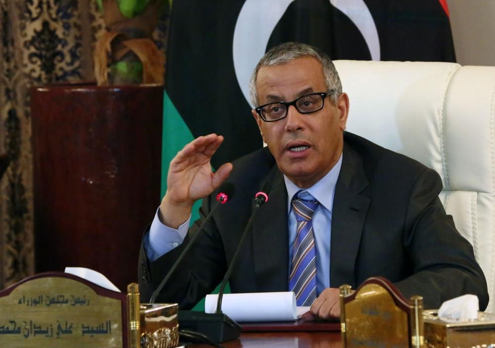 Ex-Libyan PM Ali Zeidan