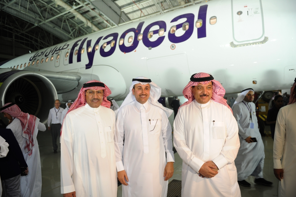 flyadeal's new plane - Saudi Gazette
