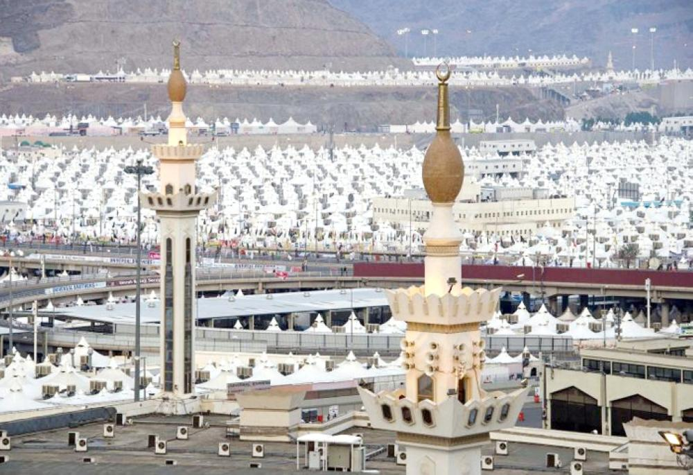Tent City is all set to welcome the over 2 million pilgrims. — Courtesy photo