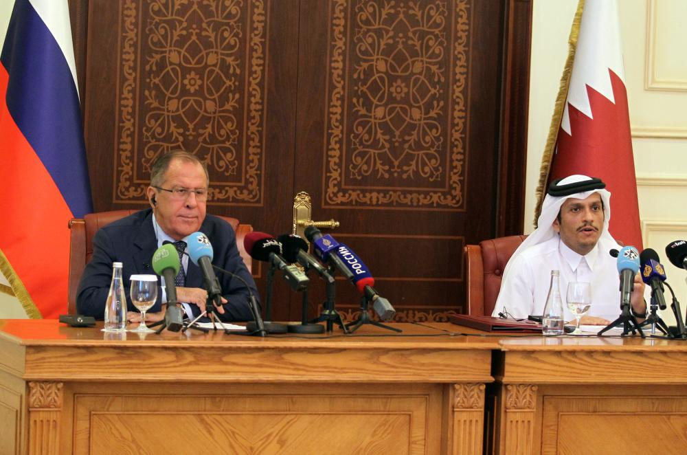 Russian FM hails Kuwaiti mediation in resolving Gulf diplomatic rift