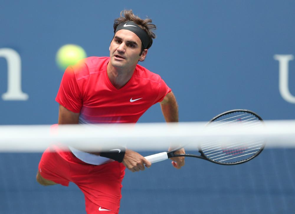 US Open: Roger Federer survives first round scare