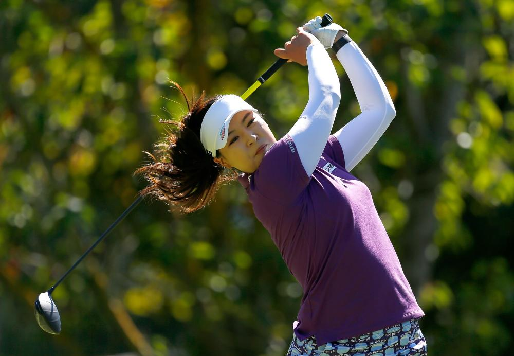 Chun seizes early lead at Portland Classic