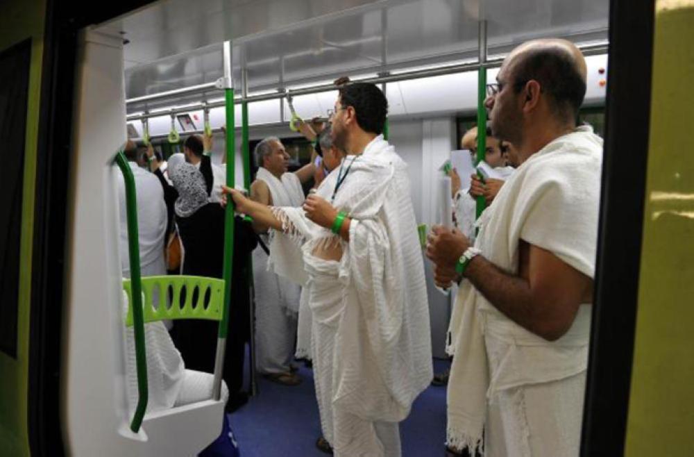 Al-Mashaer Train transports over 2m pilgrims: PTA - Saudi