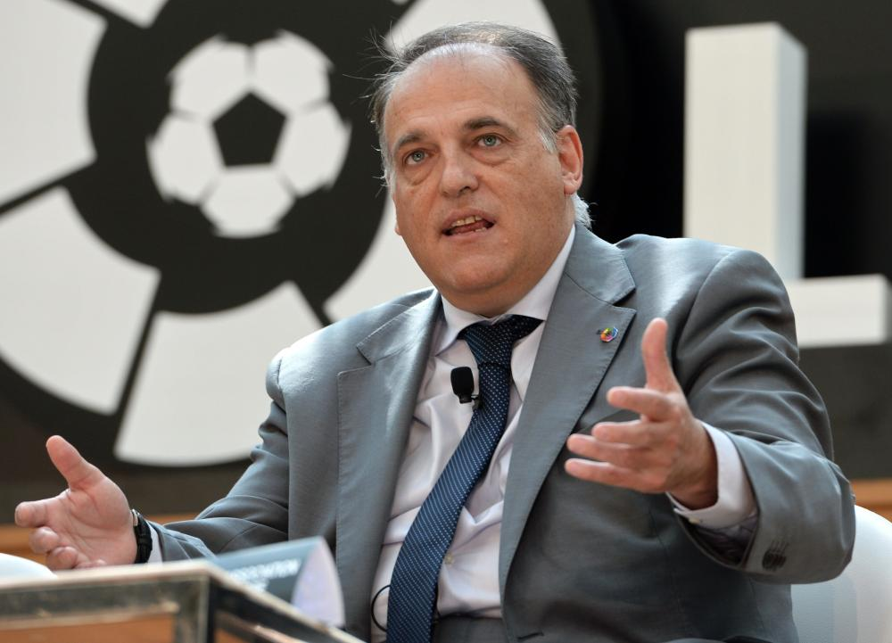 LFP Slams LaLiga President Javier Tebas' Critique Of PSG And Neymar