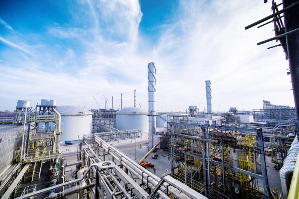 Saudi Aramco's Wasit Gas Plant. — Reuters