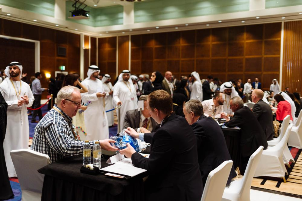 File photo of the first Expo 2020 Dubai Meet the Buyer event, which saw more than 200 SMEs in attendance