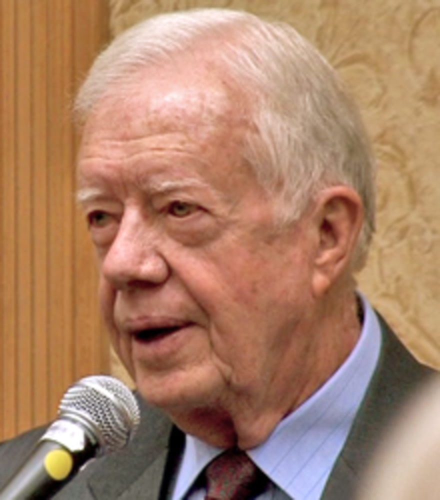 a biography of the president of peace jimmy carter Jimmy carter (james earl carter, jr), thirty-ninth president of the united states, was born october 1, 1924, in the small farming town of plains, georgia carter announced his candidacy for president in december 1974 and began a two-year campaign that gradually gained momentum.