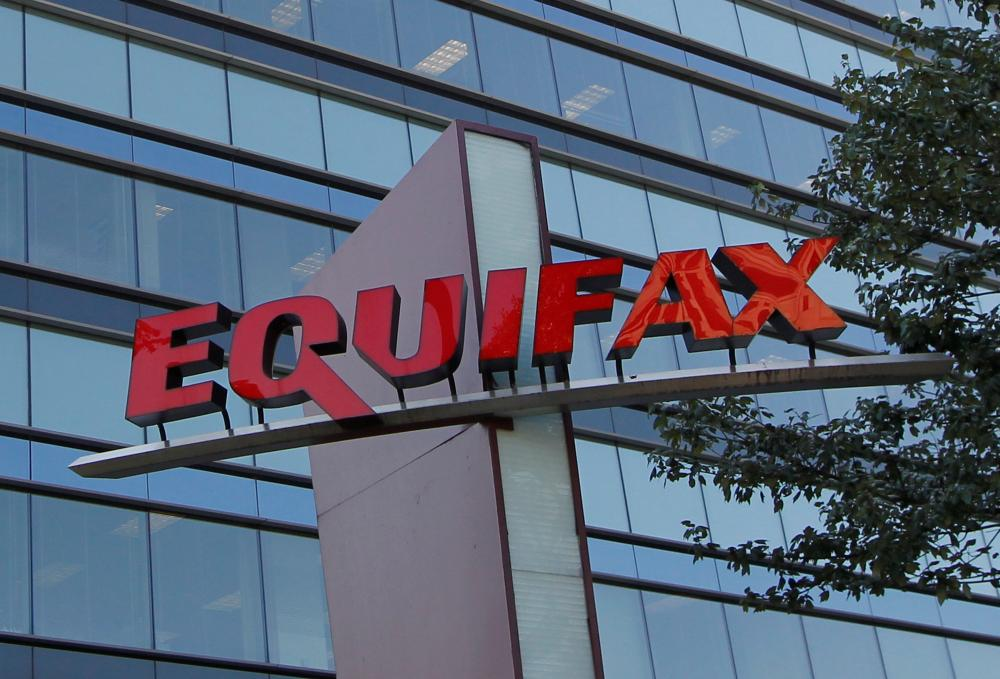 Credit reporting company Equifax Inc. corporate offices are