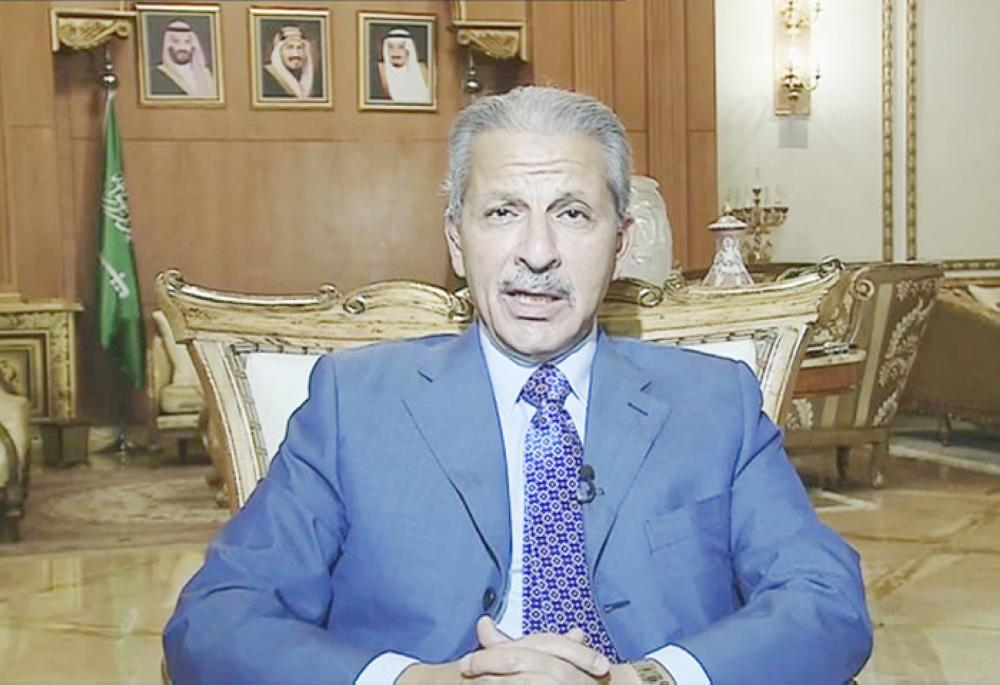 Ahmed Al-Qattan has stressed that the path to Riyadh is shorter than those to Western countries. — Courtesy photo