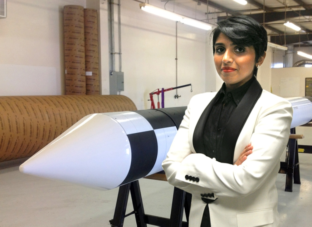 Mishaal Ashemimry is an aerospace engineer, who serves as CEO of MISHAAL Aerospace based in Miami, Fla. — Courtesy photo