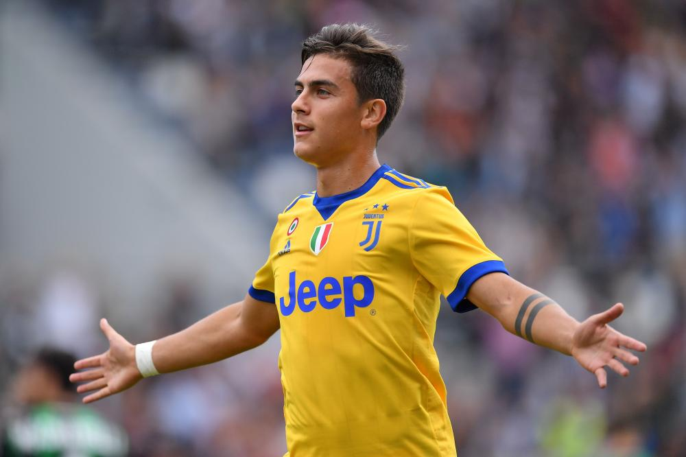 Dybala hits hat-trick as Juventus keep up 100% record