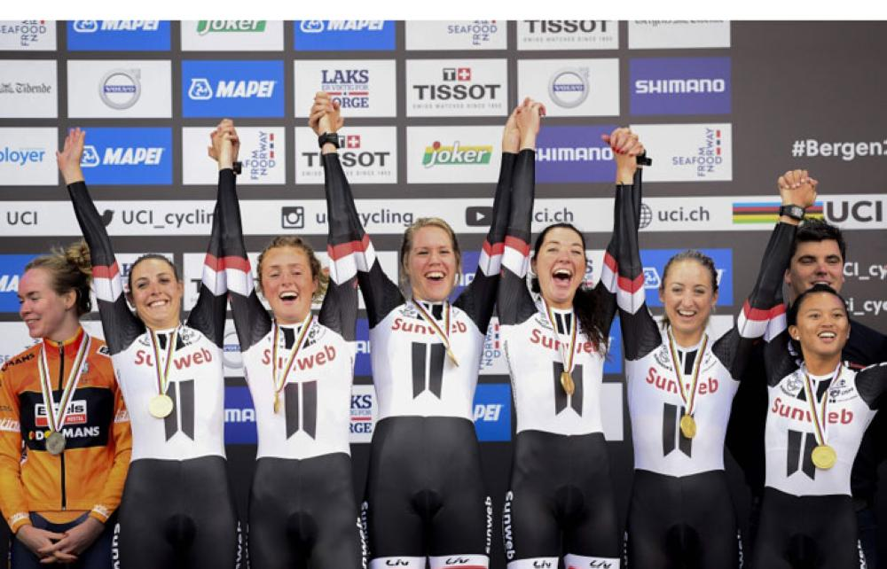 Worlds: Team Sunweb charge to men's TTT gold