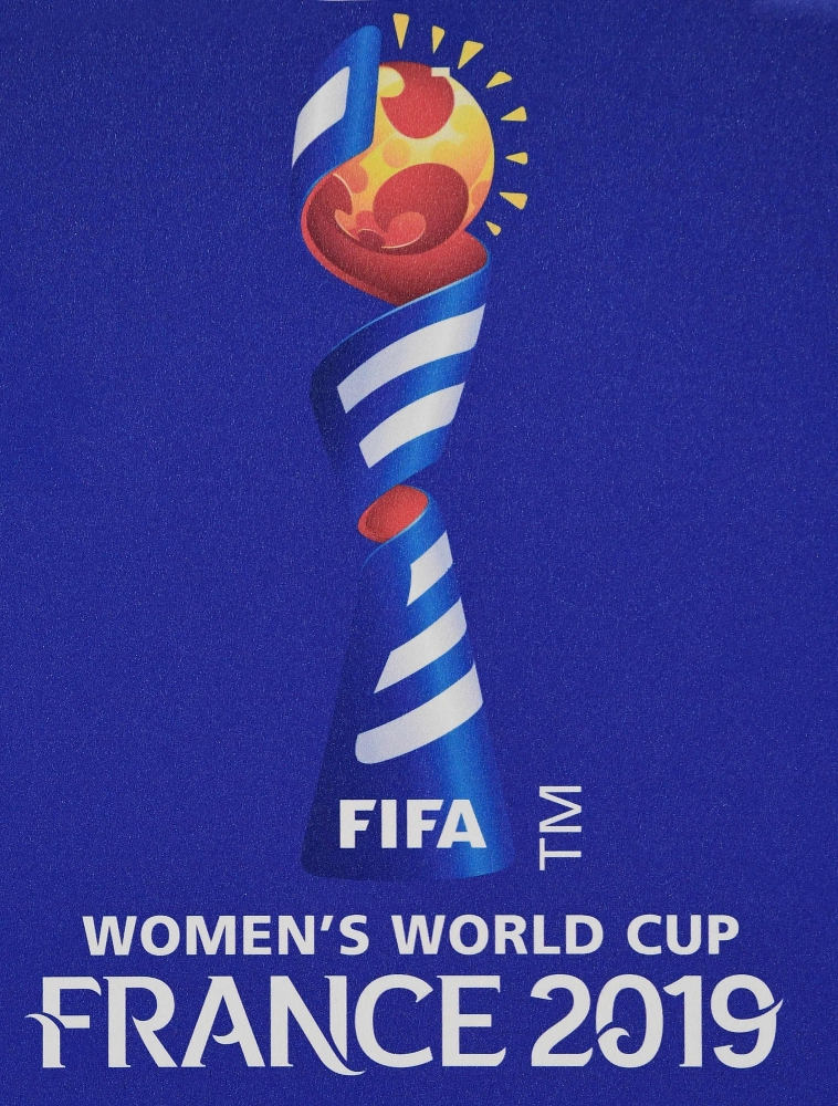 Offical logo for the 2019 FIFA Women World Cup in France. — AFP