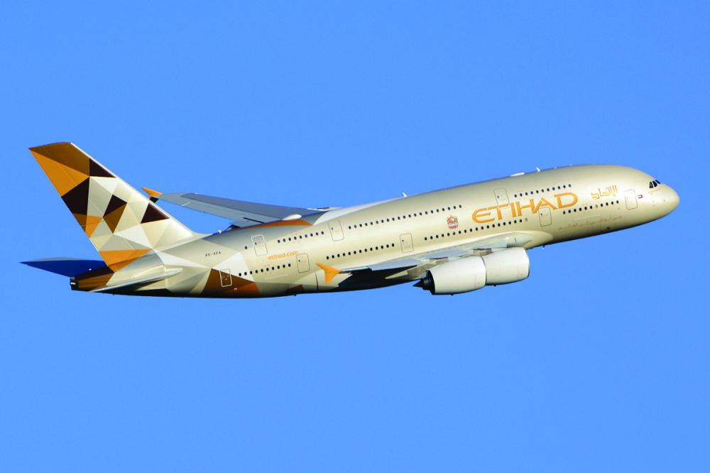 Etihad Airways A380-861