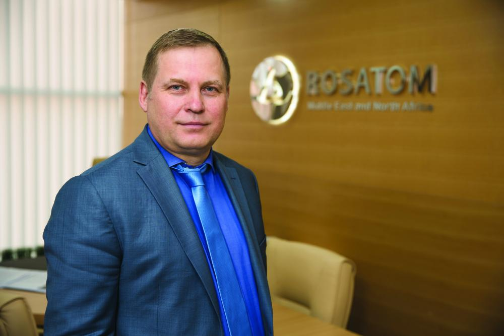 Alexander Voronkov, Director, Rosatom Middle East and North Africa, expects the Middle East to be the new frontier for nuclear energy. — Courtesy photo