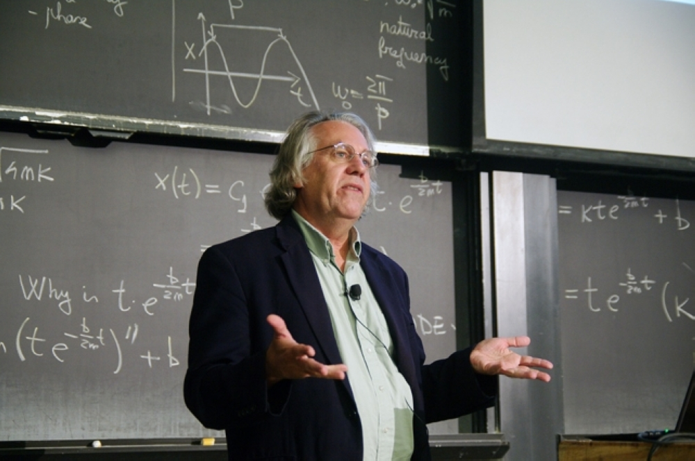 Kerry Emanuel, the Cecil and Ida Green Professor of Atmospheric Science and co-director of the Lorenz Center at MIT. — Courtesy photo