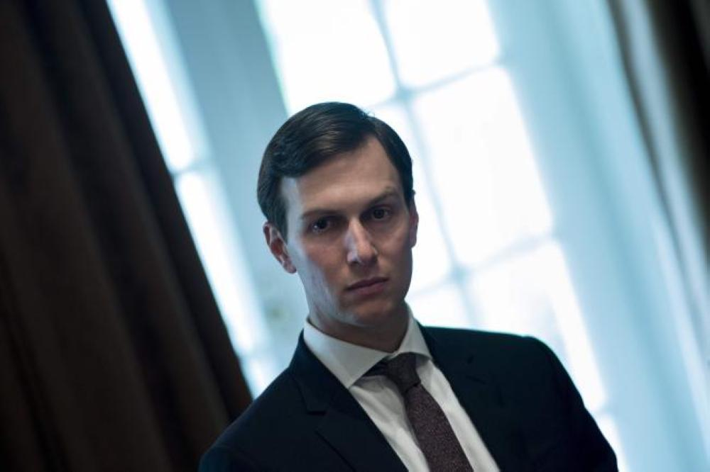 Senior Adviser Jared Kushner waits for a meeting with Prime Minister of Malaysia Najib Razak, US President Donald Trump and others in the Cabinet Room of the White House in Washington in this Sept. 12, 2017 file photo. — AFP