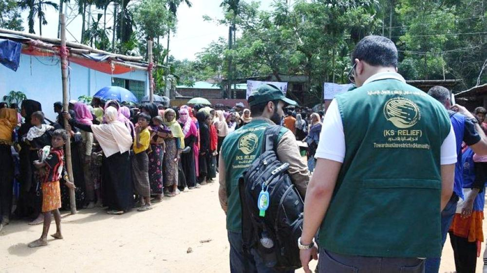 In Cox Bazar, the team assessed the basic humanitarian needs of Rohingya refugees. — Courtesy photo