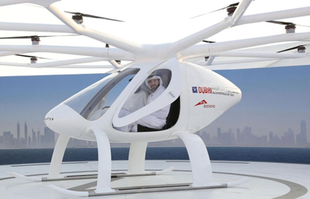 Dubai Is Testing Out The Volocopter For Flying Taxis
