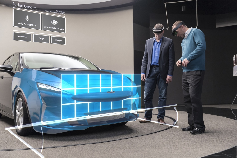 Ford is expanding testing of Microsoft HoloLens mixed reality technology globally to gain speed in designing more stylish vehicles for its customers