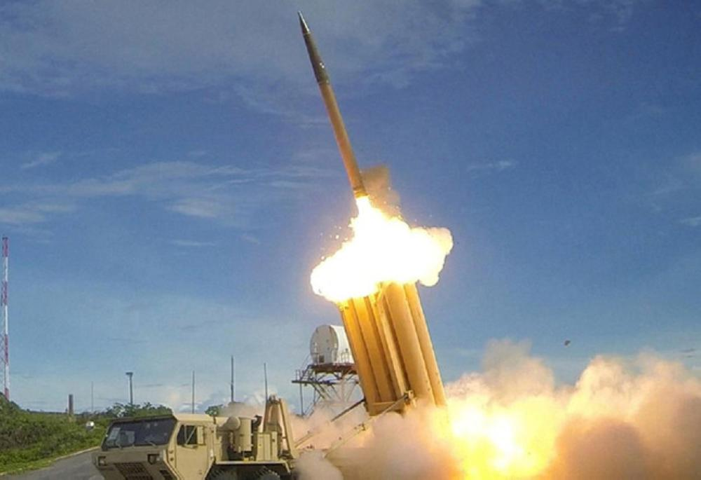 THAAD interceptor is launched during a successful intercept test.— Reuters