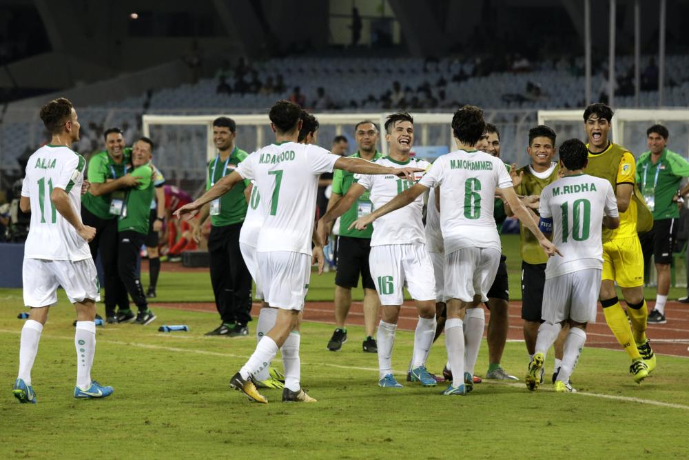 Iraq hold Mexico to 1-1 draw